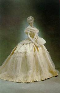Ballgown 1865, Museum of the City of New York