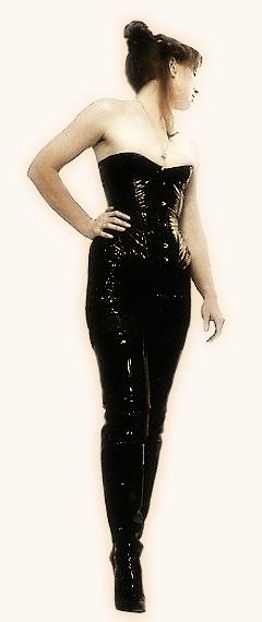 Vinyl-corset