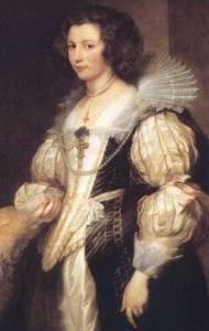 Marie Louis de Tassis, van Dyck, Netherlands, 1629