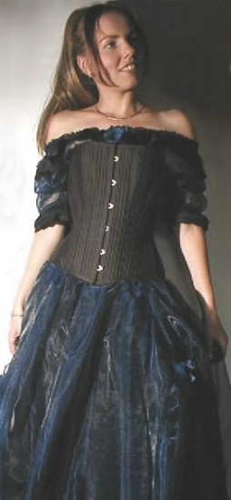 victorian corset 'Crystal'