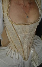 Rococo-corset front-view